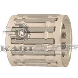 Cage d'axe de piston argentée IKO 14x18x18 mm (X30 ou 100cc)